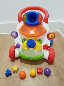 Chicco 2in1 Baby Steps Activity Walker - New condition with all the toys and accessories