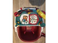 Baby bud booster seat with Toy