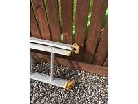 Werner ladder 14 rong with stabiliser feet