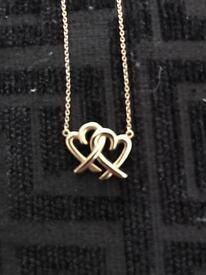 Genuine 18carat Solid Gold Tiffany & co necklace