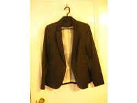 Women F&F Gray Jacket Size UK8 EUR36