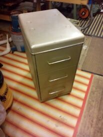 vintage industrial drawer cabinet