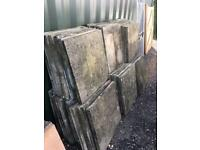 Used paving slabs for sale 600x600mm and 450 x 450mm