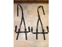 "TRS 2"" racing harness x2 for bucket seats"