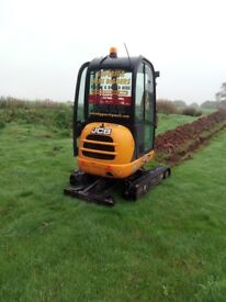 SUPERIOR MINI DIGGERS*** MINI DIGGER AND DRIVER HIRE FROM £ 225.00 PER DAY *******
