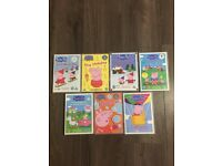 Peppa Pig DVDs set of 7