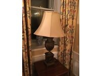 Pair of antique lamps