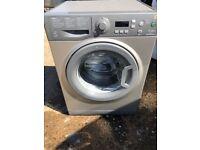 Hotpoint WMEF742 7kg 1400 Spin Washing Machine in Silver #4720