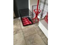 Puppy/small dog cage with accessories