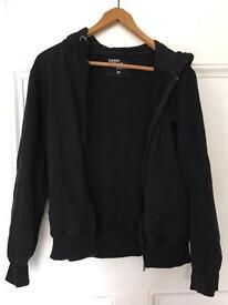 Men's black hoodie size M