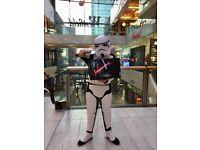 STAR WARS Licenced Costume Deluxe Adult Stormtrooper