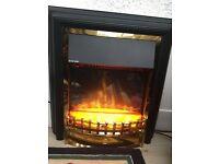 Duplex electric fire