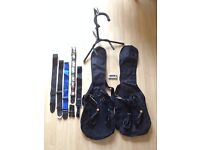 Guitar Stand, 2x Guitar Bags/Cases, 4x Cables/Leads, Tuner, 5x Straps (DiMarzio, Planet Waves)