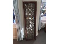 For Sale - Vintage Moroccan metal and wooden shutter. Can be wall mounted.