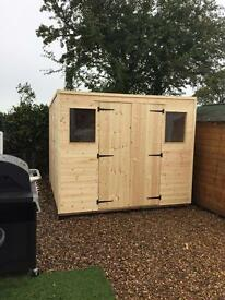 Brand New Wooden/Timber Garden Sheds 6x4 £270.00 Made To Measure Sheds Available