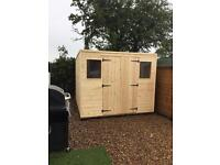 Brand New Wooden/Timber Garden Sheds 6x4 £320.00 Made To Measure Sheds Available