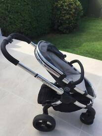 Icandy Peach 3 Double Pram with Bassinet