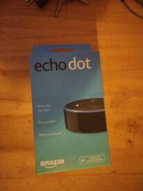 NEW! Amazon Echo dot 2nd Gen