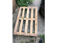 Wooden pallets x2 free