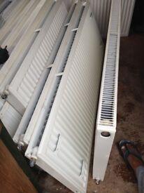 Double-Panel Single Convector Radiator 500 x 1400mm White