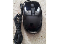 Dell Laser Mouse black with 6 buttons - as new