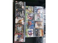 PlayStation 3 with Games and ps3 eye camera
