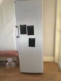 Hotpoint Tall Fridge 4 shelfs and wine rack