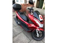 Honda PCX 125cc Great Condition with ADDED EXTRAS!