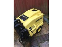 Karcher HDS hot pressure washer diesel power jet washer