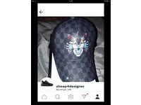 Gucci angry tiger cap