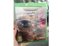 Xbox game- Monster jam crush it!!