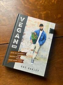 Vegan cookbook, by Gaz Oakley