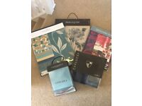 Old fabric books perfect for textile or interior design students