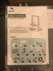 Ender-3 3D Printer V 3.6