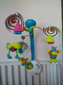 Baby cot carousel