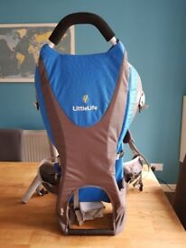 LittleLife child toddler carrier barely used