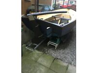 Falmouth Bass Boat ! Includes trailer & engine