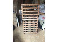 Vintage stacking apple crates