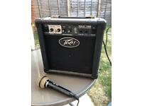 Small practice lead guitar amp