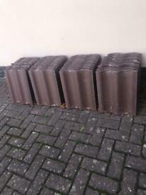 New Marley Mendip Smooth Brown Roof Tiles x 40