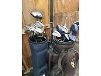 two sets of irons