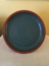 Henry Watson Suffolk Green Kitchen Pottery-Dinner Plates