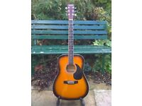 Acoustic Guitar full size ready to play