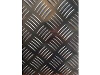 Aluminium Chequer Plate 1000x2000mm