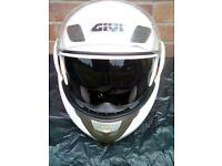 GIVT MOTOR BIKE /SCOOTER FULL FACE SAFETY HELMET