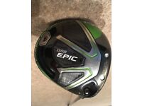 Callaway Epic driver - excellent condition