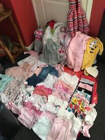 Girls Clothes 6-12 Months