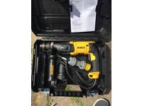 Brand new Dewalt sds drill and angle grinder