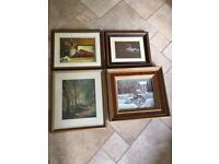 4 Paintings - (Price Is For All 4)