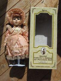 """Regency"" Special Collectors Edition 14"" Porcelain Doll"